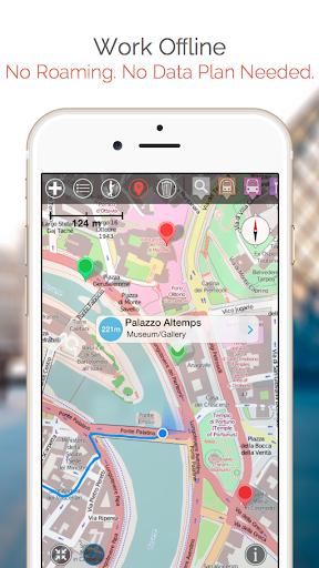 brasov map and walks screenshot 2