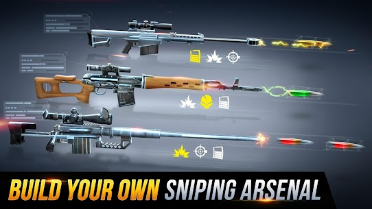 Sniper Honor MOD (Unlimited Money/Golds) 3