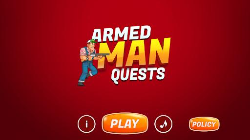 Armed Man Quests Game  updownapk 1
