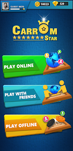 Carrom Star : Multiplayer Carrom board game 2.3 Screenshots 1
