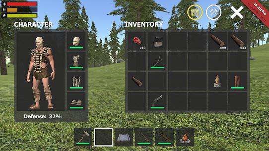 Survival Simulator MOD APK 0.2.2 (Unlimited money, dumb enemy) 3