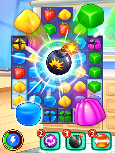 Gummy Paradise - Free Match 3 Puzzle Game 1.5.4 screenshots 8
