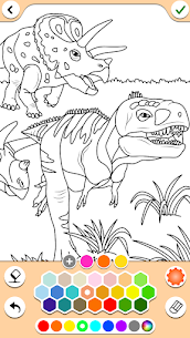 Dino Coloring Game 2