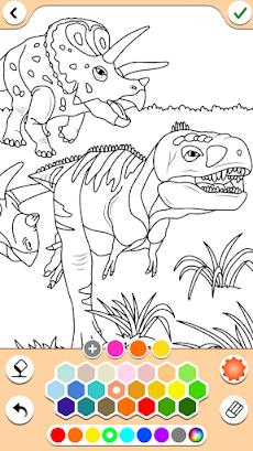 恐竜の色ゲームのおすすめ画像2