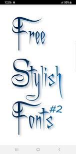 Stylish Fonts #2 1.16 Latest MOD Updated 1