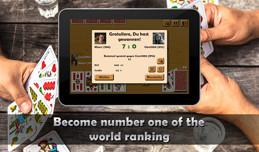 Schnapsen, 66, Sixty-Six - Free Card Game Online 2.94 screenshots 15
