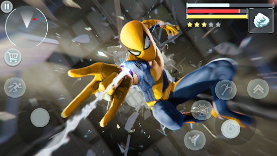 Spider Hero - Super Crime City Battle 1.0.10 Screenshots 6