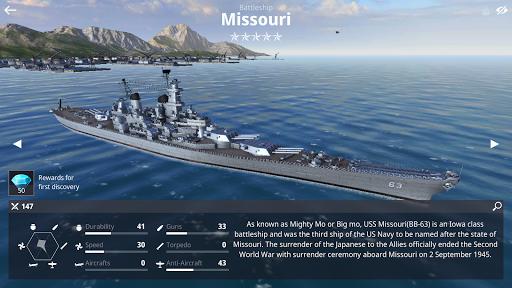 Warship Fleet Command : WW2 Naval War Game  screenshots 9