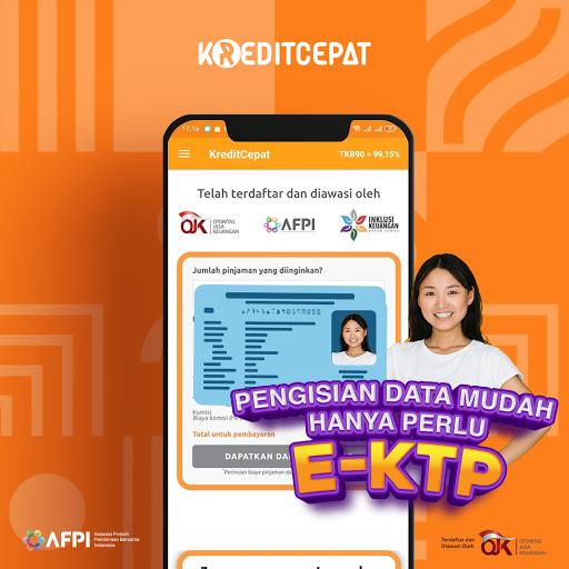 KreditCepat: Pinjaman Uang Dana Tunai Online Cepat Apkfinish screenshots 4