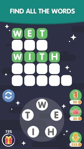 Word Search Sea: Unscramble words  screenshots 3