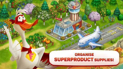 Superfarmers: happy farm & heroes city building ud83cudf3b android2mod screenshots 17