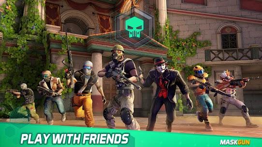 MaskGun Online multiplayer FPS shooting gun game Apk Lastest Version 2021** 18