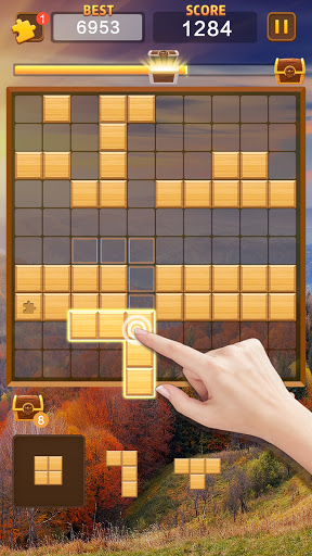 Jigsaw Wood Classic -  Block Puzzle  screenshots 3