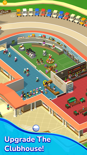 Idle Golf Club Manager Tycoon  screenshots 2