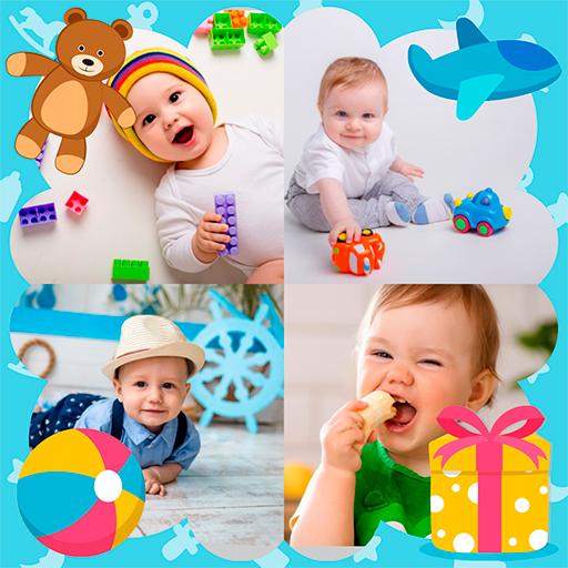 Baixar Collage baby photo frame para Android
