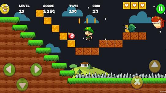 تحميل لعبة Super Bob's World : Free Run Game مهكرة 3