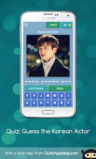 Quiz: Guess the Korean Actor