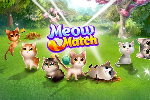 Meow Match: Cats Matching 3 Puzzle & Ball Blast Apkfinish screenshots 3