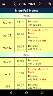 Moon Calendar 3.0 Screenshots 7