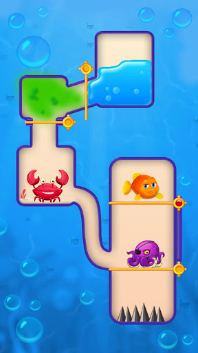Save the Fish - Pull the Pin Game  screenshots 3