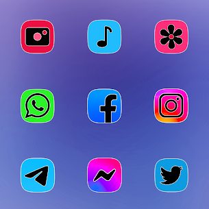 One UI Fluo Apk- Icon Pack 2.1.7 (Paid) 3