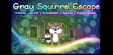 Best Escape Games 61 - Gray Squirrel Escape Gameのおすすめ画像1