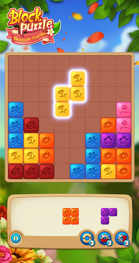 Block Puzzle: Blossom Garden 26 updownapk 1