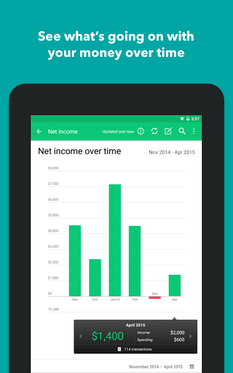Mint: Budget, Bills, & Finance Tracker  poster 20