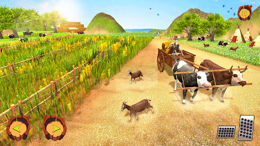 Real Tractor Farm Simulator: Tractor Games Free 1.0.1 screenshots 4