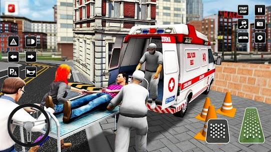 Heli Ambulance Simulator 2020: 3D Flying car games 1.14 Download APK Mod 3
