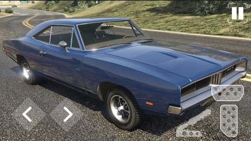 Speed Dodge Charger Classic Racing screenshots 2