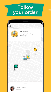 Glovo: Order Anything. Food Delivery and Much More Screenshot