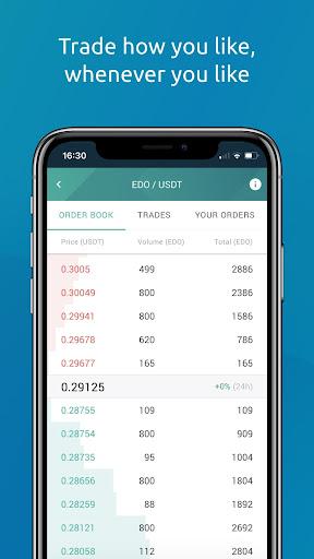 Eidoo: Bitcoin and Ethereum Wallet and Exchange 2.14.0 Screenshots 6