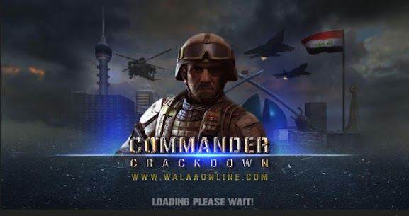 Commander Crackdown Golden Division Hack for Android and iOS 1