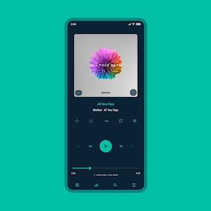 Aurora – Poweramp v3 Skin APK [PAID] Download 1