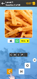Zoom Quiz: Close Up Pics Game, Guess the Word