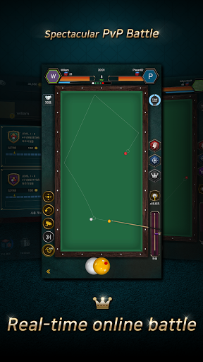 Code Triche RealBilliards Battle: carom billiards 3 cushion  APK MOD (Astuce) screenshots 1