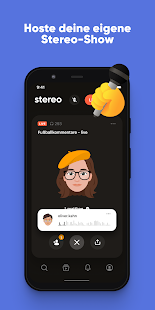 Stereo: Entdecke Live-Podcasts Screenshot