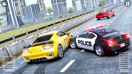 US Police Car driving Chase 3D  Screenshots 3