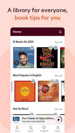 Storytel: Audiobooks and Ebooks screenshots 9