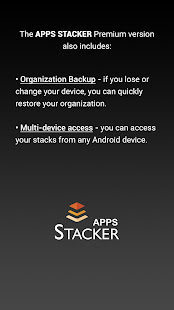 APPS STACKER - Smart App Organizer