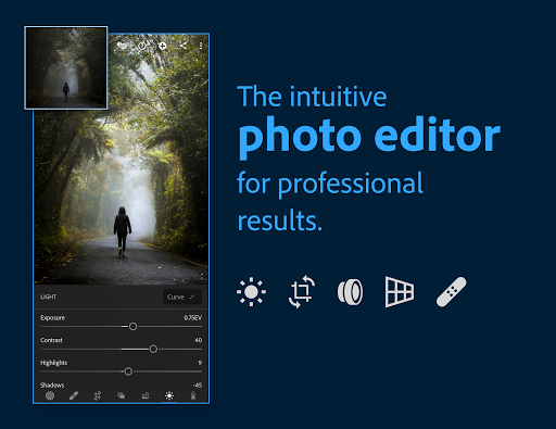 Adobe Lightroom - Photo Editor & Pro Camera  screen 0