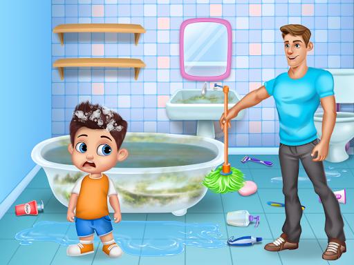 Daddyu2019s Helper Fun - Messy Room Cleanup 9.0 screenshots 2