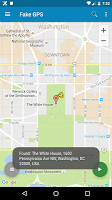 screenshot of Fake GPS Location Donate