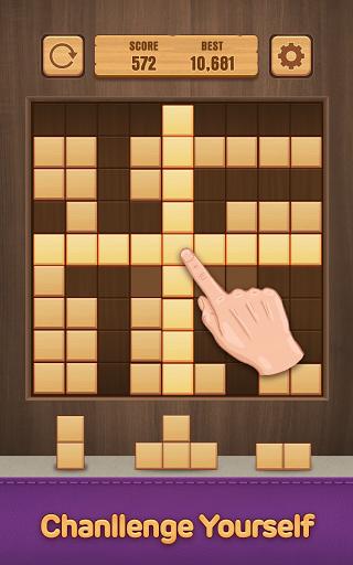 Wood Puzzle Block -Classic Puzzle Block Brain Game 1.5 screenshots 7