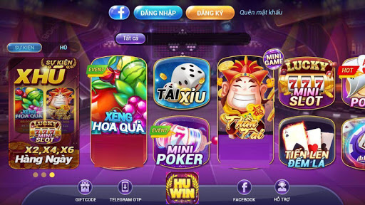 Hu Win - No Hu Slot, Tai Xiu 1.0.0 Screenshots 1