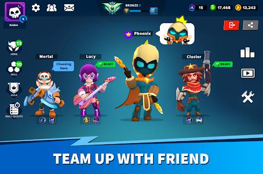 Heroes Strike - Modern Moba & Battle Royale  screenshots 14