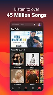 Gaana Music App v8.30.1 Mod APK 1