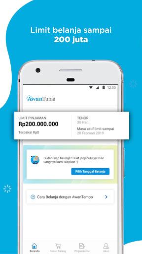 Apk AwanTunai Pinjaman Online untuk UMKM Bunga Rendah Proses cepat Syarat Mudah