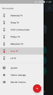 Mando TV (Infrarrojos) Screenshot